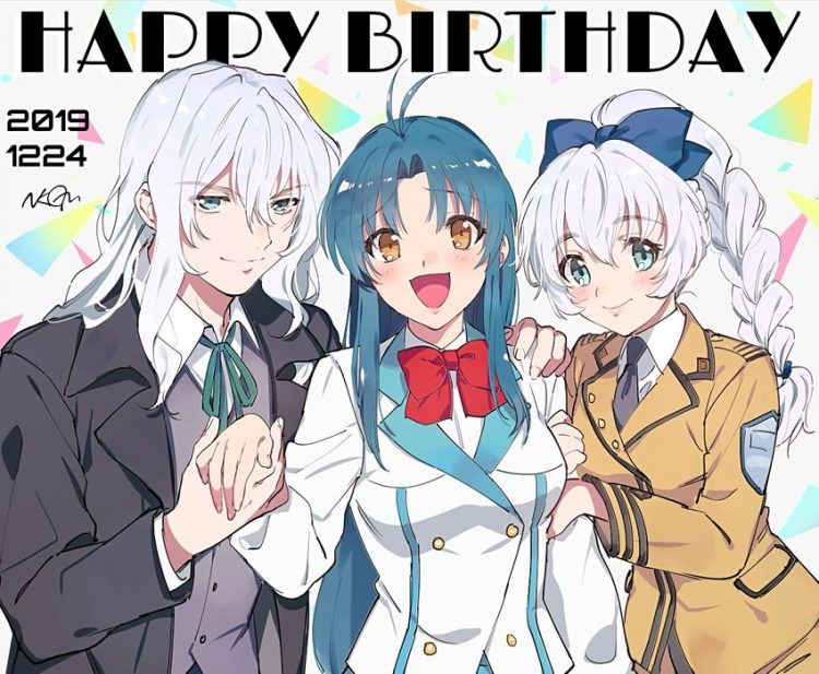 @skybluedemonflame @tessatestarossa My sisters Kaname, Teletha and I all thank you for all the wonde