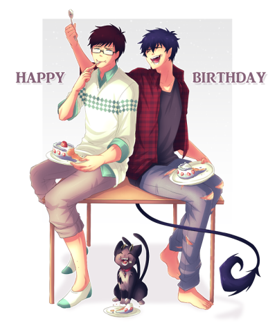 Yukio and I thank you all for the amazing Birthday and Xmas wishes! Happy Birthday to our fellow fam