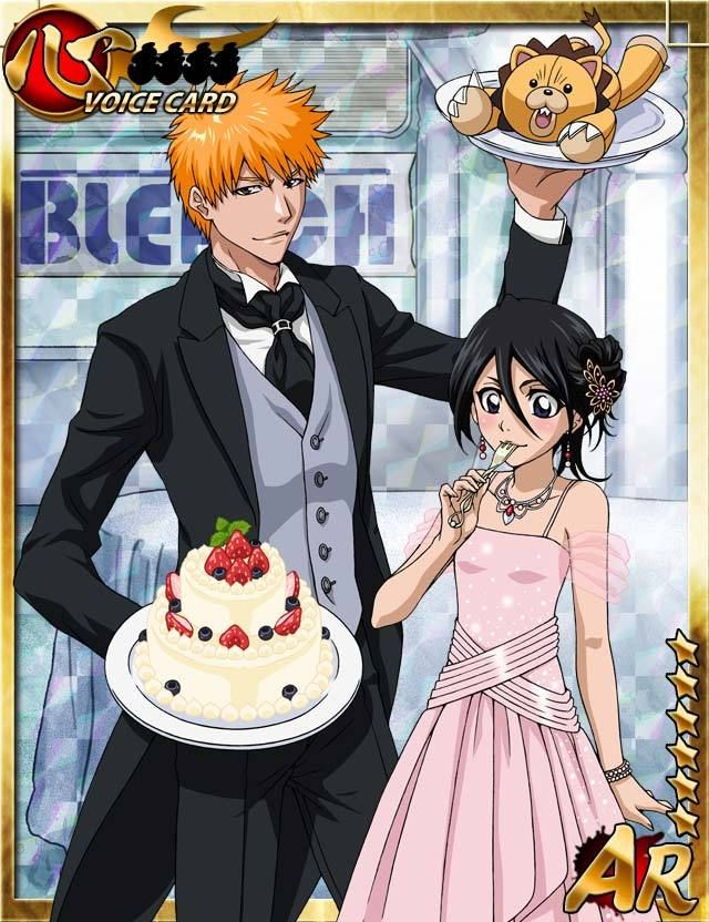 *Serving cake to their new and long-time customers along with Rukia.* @rukiaksugardemon a823335de122