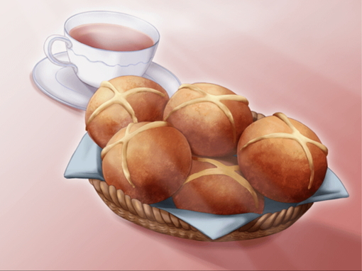 *Serving some coffee and warm bread buns to the customers.* original (20)
