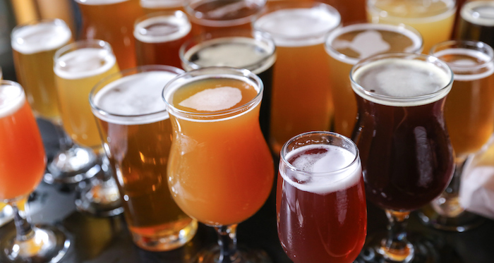 *Sets out the birru.* Craft Beer Tasting Flight