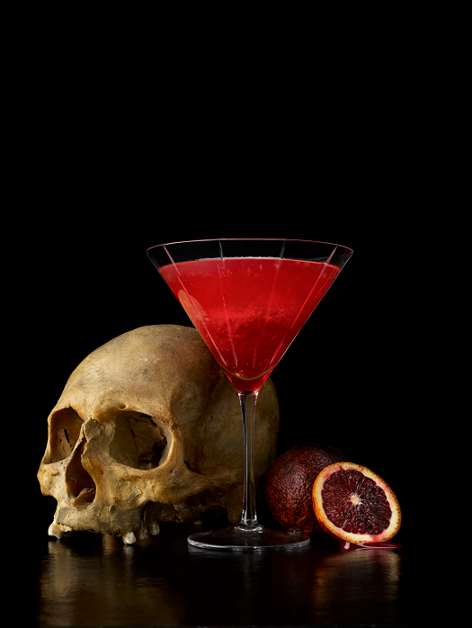 *Brings over some drinks.* This one is called Red Envy.. *chuckles* Seems appropriate right! cocktai