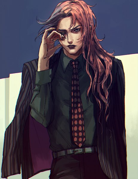 *Taking a walk through Akiba after he finished modeling at the agency.* That was exhausting. I shoul