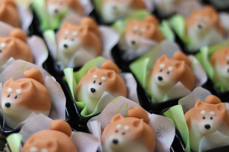 My heart didn't allow me to eat this adorable sweets i will take picture first Ewpfx3xUcAQh1Lo