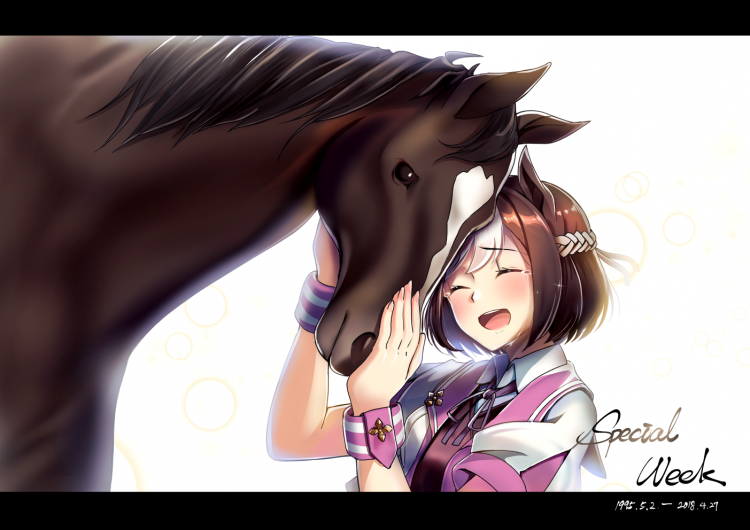 *Earlier Violetta had stopped by the stable and adopted a friend, coincidentally enough, also referr