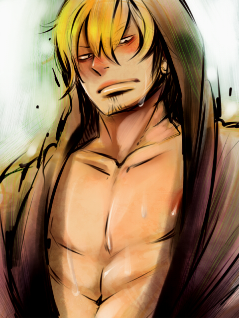 *After enjoying some spa time. He gets ready to head back home to prepare for a wild and crazy party