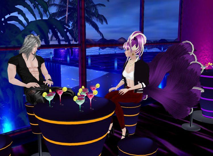@purpledemonflame *Enjoying a drink in the upper floors of the nightclub.* leoandrensugarstormclubim