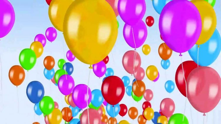*arrives with the balloons for the Children's day celebration.* This is the address! Nice plac