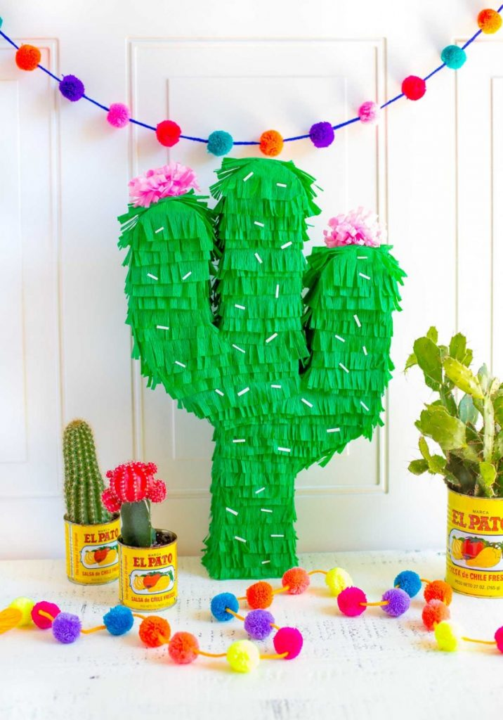 *Finishing up a craft shop and making some awesome piñatas* Now to fill these up with some candy. D