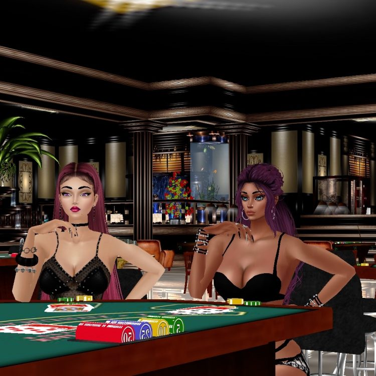 *Casino night with the one and only Chocolate Goddess* @promiscuous FB4AD005-3E63-4329-B8B5-362946D5