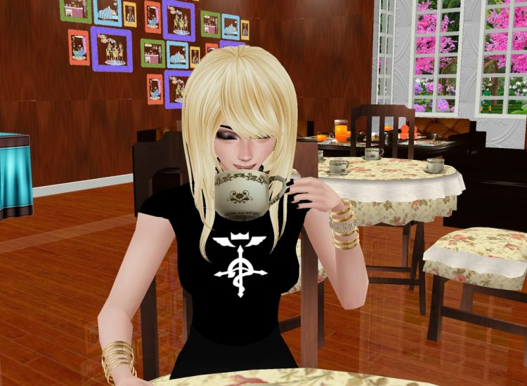 *Nothing better than stopping at the family bakery for a warm drink.* alibakeryenjoyimvu