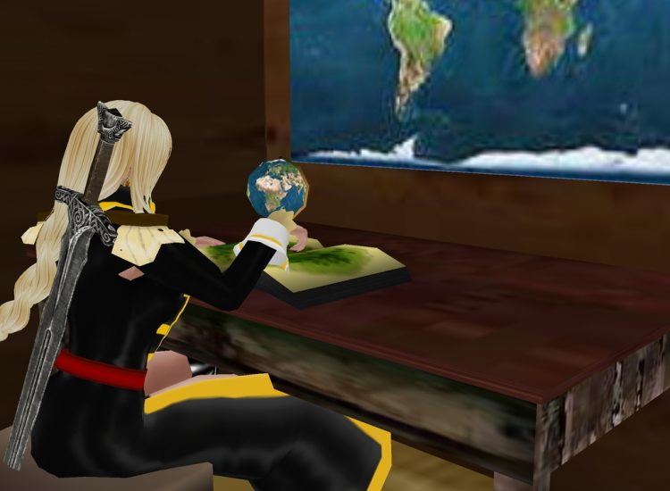 *Getting ready to take her ship out on the Seven Skyrieway Seas.* aliseasimvu2