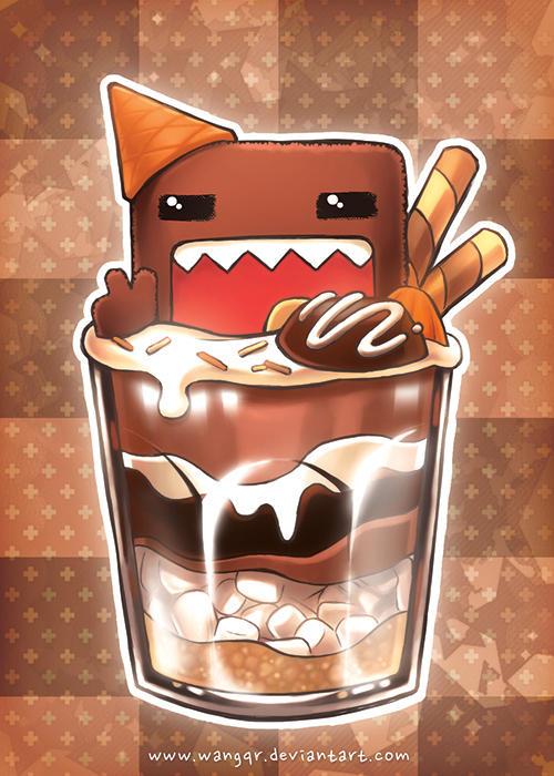 domo_chocolate_parfait_by_wangqr_d9arr6n-fullview