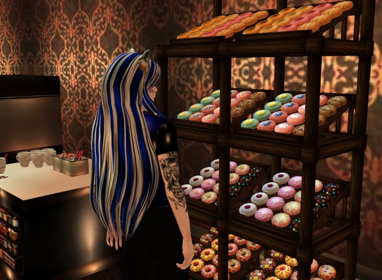 Oh so they have these things too! inucampuscafeimvu