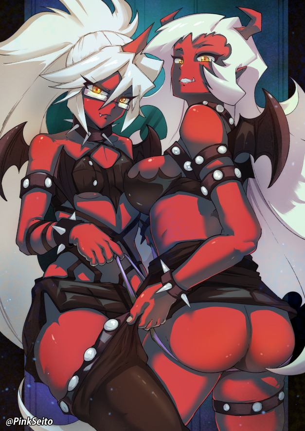 @skybluedemonflame __kneesocks_and_scanty_panty_stocking_with_garterbelt_drawn_by_pink_seito__d0c0cb