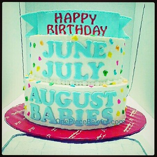Happy Birthday to all born in June/July/August! From all of us here at SugarSweet Bakery! 1476576609