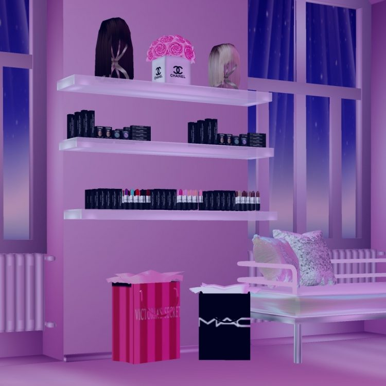 A display of wonderful makeup and free gifts! AFBD0A2D-A7D0-47D4-8C5A-2091C8BAD808