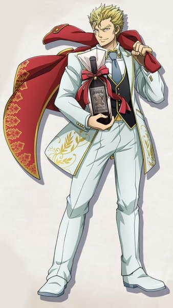 *With Laxus' bold personality he was glad to partake in the fashion show, even if it was only