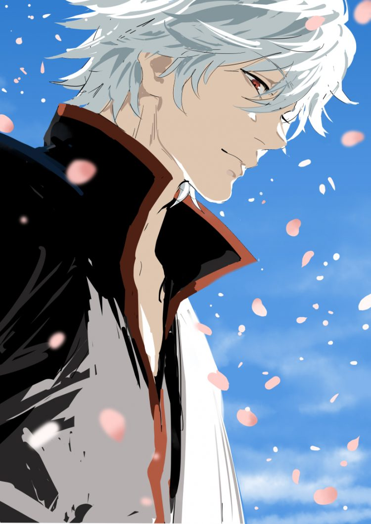 *Gintoki was processing the words exchanged between Helena and Noloty. He took a deep breath and loo