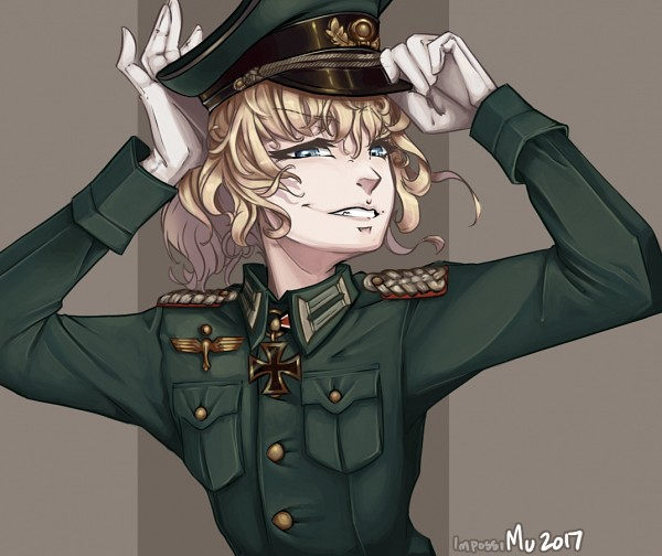*Tanya makes sure to take her turn on the catwalk.* Heh! And they thought I wouldn't step up a