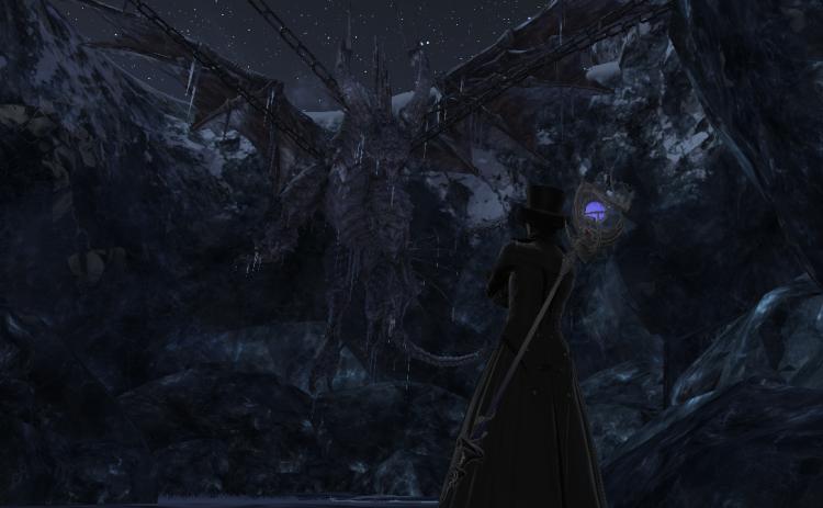 *Somewhere around Antarctica, 18XX XX XX* Ah.. good it still here *He look at the frozen dragon corp