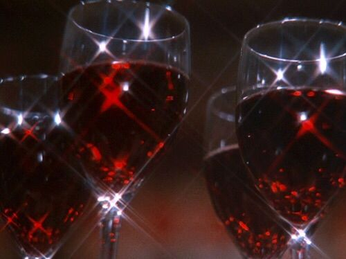 *Makes sure the waiters and waitresses are walking around with plenty of glasses of red wine for all