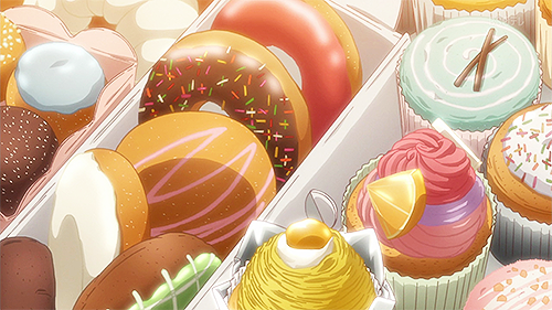 *Drops off some pastries from SugarSweet Bakery for the models, staff and attendees to enjoy in thei