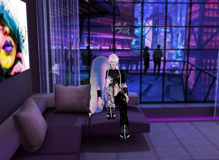 *Lord Sesshomaru waits for his next turn in the lounging area.* sesshylounginimvu