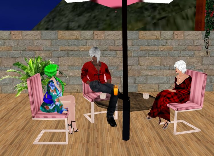 *Later Thoth sama stops by the bakery for some corn muffins and Tama and Ginko sit with him to enjoy