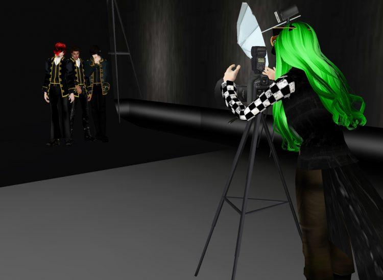 @ketchuplord @fruitchinposamurai @toshizosaotome *A Shinsengumi photo session.* ukyophotosessionshin