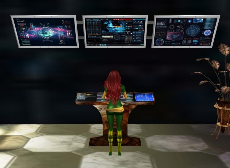 *Meets with Jean at the control room* Hey Phoenix! Please don't tell me you watch the multi univer