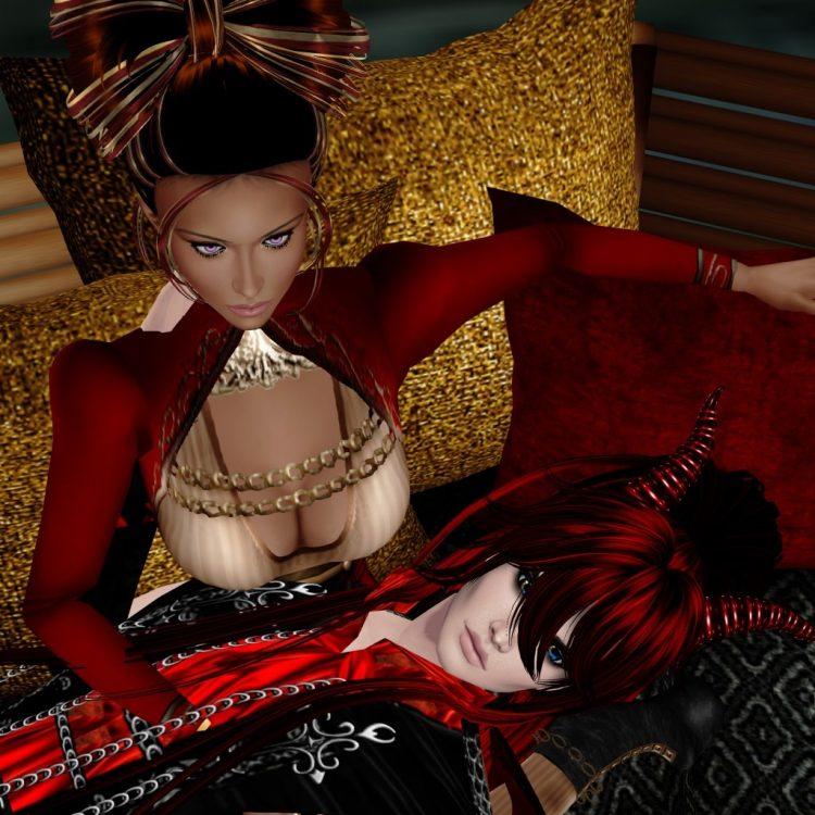 *Later on Shuhei lays over Rika's lap* Feeling comfy, partner? 7072D7B0-A5CE-4B6D-8D74-1230D0E15CA