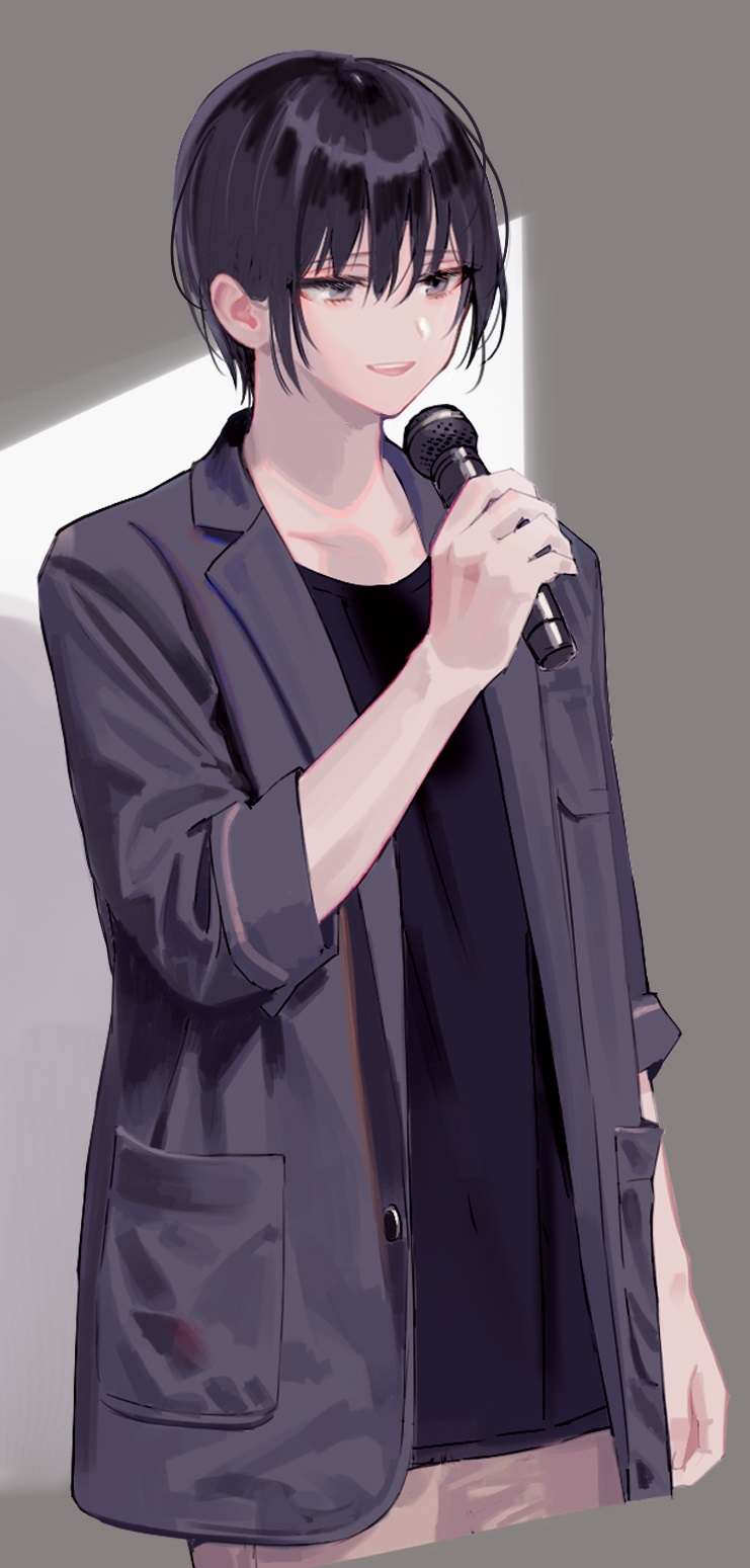 *When no one is around he will using studio equipment for karaoke* Yeeeay!! E3z2_WoVUAYcLSK