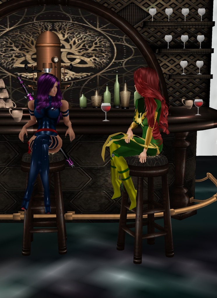 *Has a lovely chat with Rika at one of the space station's bars* I'm glad you made it here! Than