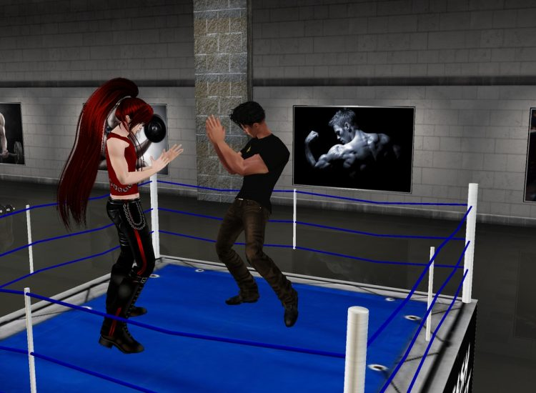 *A little boxing warm up with Shuhei.* goriandshuheigymimvu