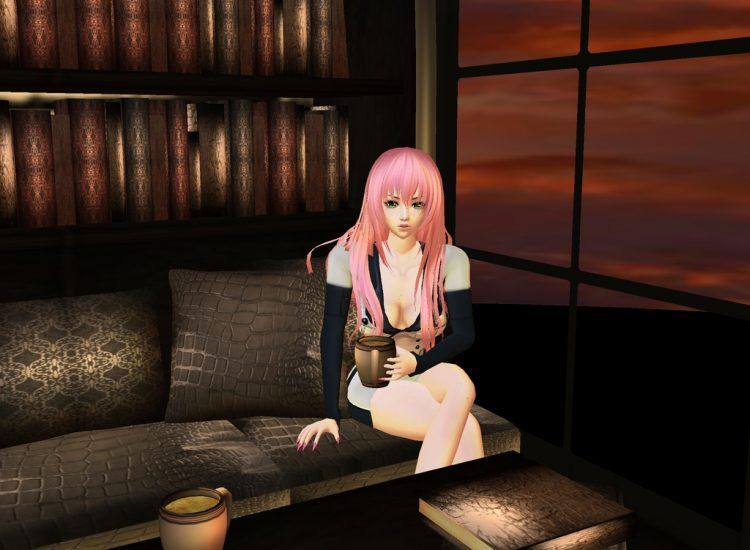 *Enjoying some downtime at Academy City's Sugar Campus Library Cafe.*myuulalaimvucoffee