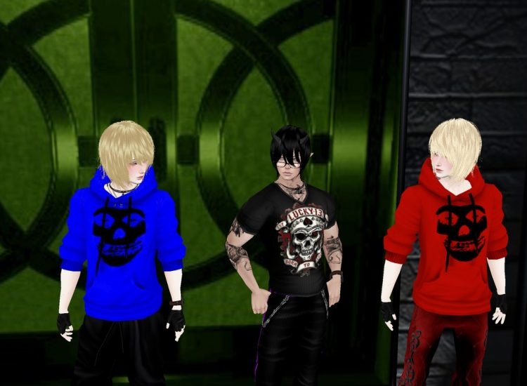 *My twin blonde sugardemon cousins appear for the next round of photos.* @alkahestrykeiichi @alkahes