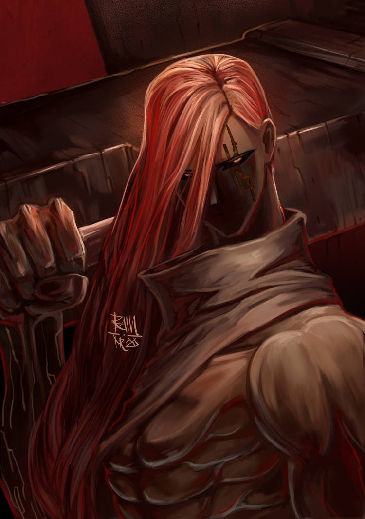 *Hunting down some virus stricken vampires. He couldn't risk having them infect any of the pop