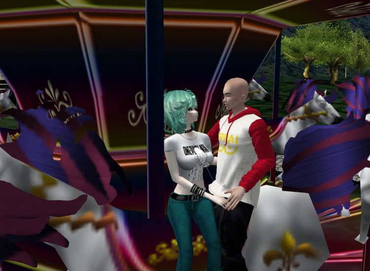*Last night Tamaki and Saitama were catching up, they decided to head to Funlandia for their little